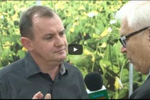 Presidente da Coperaguas dá entrevista no Fórum do Feijão