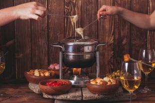 Receita de fondue de milho verde