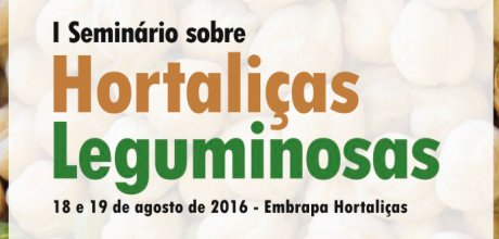 Coperaguas confirma presença no I Seminário sobre Hortaliças Leguminosas